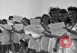 Image of young girls Port Arthur Texas USA, 1944, second 46 stock footage video 65675071447