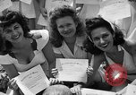 Image of young girls Port Arthur Texas USA, 1944, second 47 stock footage video 65675071447
