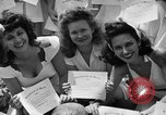 Image of young girls Port Arthur Texas USA, 1944, second 48 stock footage video 65675071447