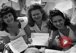 Image of young girls Port Arthur Texas USA, 1944, second 49 stock footage video 65675071447
