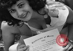 Image of young girls Port Arthur Texas USA, 1944, second 50 stock footage video 65675071447
