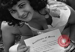 Image of young girls Port Arthur Texas USA, 1944, second 51 stock footage video 65675071447