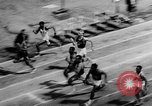 Image of track sports Compton California USA, 1957, second 12 stock footage video 65675071465