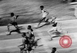 Image of track sports Compton California USA, 1957, second 13 stock footage video 65675071465