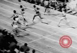 Image of track sports Compton California USA, 1957, second 15 stock footage video 65675071465
