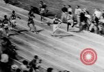 Image of track sports Compton California USA, 1957, second 16 stock footage video 65675071465
