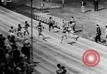 Image of track sports Compton California USA, 1957, second 17 stock footage video 65675071465