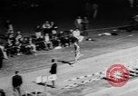 Image of track sports Compton California USA, 1957, second 22 stock footage video 65675071465