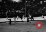 Image of track sports Compton California USA, 1957, second 29 stock footage video 65675071465
