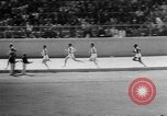Image of track sports Compton California USA, 1957, second 34 stock footage video 65675071465
