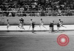 Image of track sports Compton California USA, 1957, second 35 stock footage video 65675071465