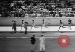 Image of track sports Compton California USA, 1957, second 36 stock footage video 65675071465
