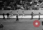 Image of track sports Compton California USA, 1957, second 37 stock footage video 65675071465