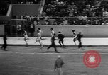 Image of track sports Compton California USA, 1957, second 38 stock footage video 65675071465