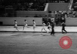 Image of track sports Compton California USA, 1957, second 39 stock footage video 65675071465