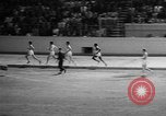 Image of track sports Compton California USA, 1957, second 40 stock footage video 65675071465