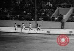 Image of track sports Compton California USA, 1957, second 43 stock footage video 65675071465
