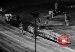 Image of track sports Compton California USA, 1957, second 52 stock footage video 65675071465