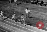 Image of track sports Compton California USA, 1957, second 54 stock footage video 65675071465