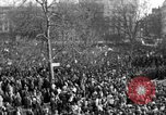 Image of British demonstrate against American involvement in Vietnam London England United Kingdom, 1968, second 11 stock footage video 65675071477