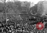 Image of British demonstrate against American involvement in Vietnam London England United Kingdom, 1968, second 12 stock footage video 65675071477