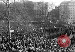 Image of British demonstrate against American involvement in Vietnam London England United Kingdom, 1968, second 13 stock footage video 65675071477