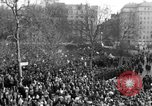 Image of British demonstrate against American involvement in Vietnam London England United Kingdom, 1968, second 14 stock footage video 65675071477