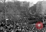 Image of British demonstrate against American involvement in Vietnam London England United Kingdom, 1968, second 15 stock footage video 65675071477