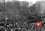 Image of British demonstrate against American involvement in Vietnam London England United Kingdom, 1968, second 16 stock footage video 65675071477