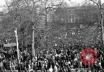 Image of British demonstrate against American involvement in Vietnam London England United Kingdom, 1968, second 17 stock footage video 65675071477