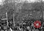 Image of British demonstrate against American involvement in Vietnam London England United Kingdom, 1968, second 18 stock footage video 65675071477