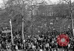 Image of British demonstrate against American involvement in Vietnam London England United Kingdom, 1968, second 19 stock footage video 65675071477