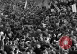 Image of British demonstrate against American involvement in Vietnam London England United Kingdom, 1968, second 31 stock footage video 65675071477