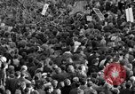 Image of British demonstrate against American involvement in Vietnam London England United Kingdom, 1968, second 32 stock footage video 65675071477
