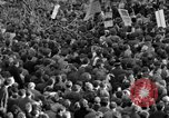 Image of British demonstrate against American involvement in Vietnam London England United Kingdom, 1968, second 33 stock footage video 65675071477