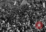 Image of British demonstrate against American involvement in Vietnam London England United Kingdom, 1968, second 34 stock footage video 65675071477