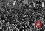 Image of British demonstrate against American involvement in Vietnam London England United Kingdom, 1968, second 35 stock footage video 65675071477