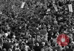 Image of British demonstrate against American involvement in Vietnam London England United Kingdom, 1968, second 36 stock footage video 65675071477