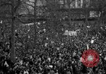 Image of British demonstrate against American involvement in Vietnam London England United Kingdom, 1968, second 54 stock footage video 65675071477