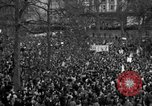 Image of British demonstrate against American involvement in Vietnam London England United Kingdom, 1968, second 57 stock footage video 65675071477