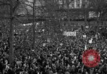 Image of British demonstrate against American involvement in Vietnam London England United Kingdom, 1968, second 58 stock footage video 65675071477