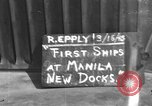 Image of new dock Manila Philippines, 1945, second 1 stock footage video 65675071480