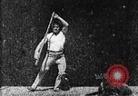Image of Athlete exercising West Orange New Jersey USA, 1894, second 14 stock footage video 65675071487
