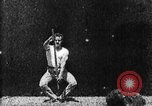 Image of Athlete exercising West Orange New Jersey USA, 1894, second 31 stock footage video 65675071487