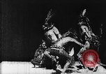 Image of Buffalo Dance Europe, 1894, second 13 stock footage video 65675071495