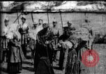 Image of fictional recreation of Mary Queen Scots death West Orange New Jersey USA, 1895, second 1 stock footage video 65675071506