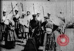 Image of fictional recreation of Mary Queen Scots death West Orange New Jersey USA, 1895, second 3 stock footage video 65675071506