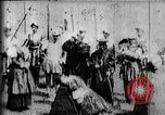 Image of fictional recreation of Mary Queen Scots death West Orange New Jersey USA, 1895, second 8 stock footage video 65675071506