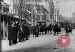 Image of horse-drawn sleighs Harrisburg Pennsylvania USA, 1896, second 16 stock footage video 65675071523