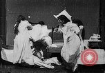 Image of Pillow fight West Orange New Jersey USA, 1897, second 4 stock footage video 65675071524
